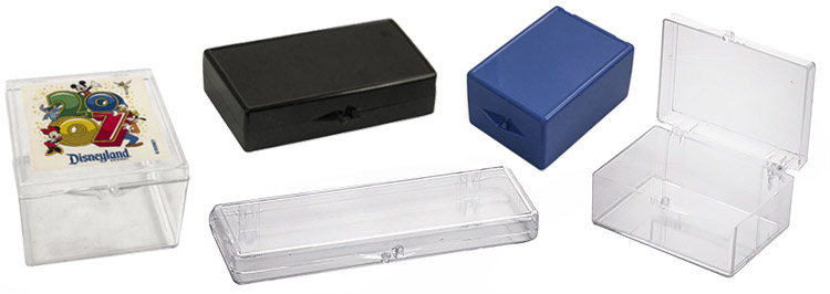 Hinged Plastic Boxes Us Box Corp