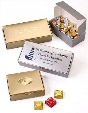 Luster Metallic Candy Boxes