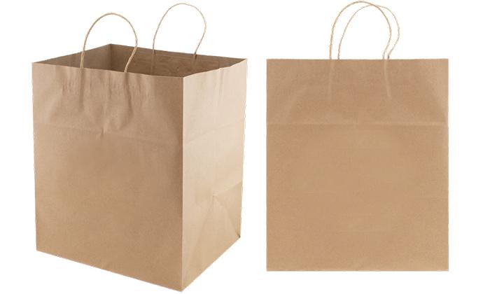Jumbo Gusset Take Out Bag