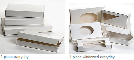 Everyday 1 Piece White Candy Boxes