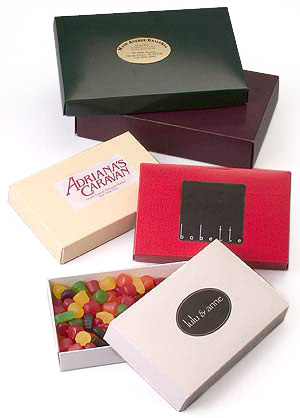 Glossy 2 Piece Folding Candy Boxes