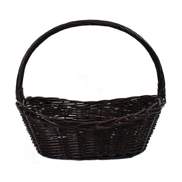 2596 Oval Brown Basket