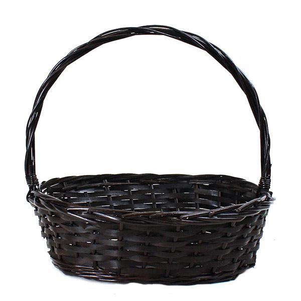 2693BR Oval Brown Basket