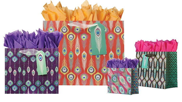 Tribe Gift Totes Ribbon Handles Collection