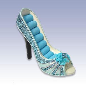 377-22175BL - BLUE PEEP SHOE RING DISPL