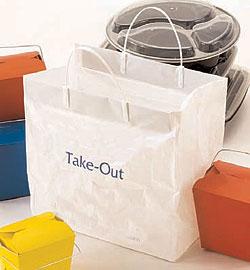 Custom Imported HDPE Plastic Bags w/Clip Loop handle