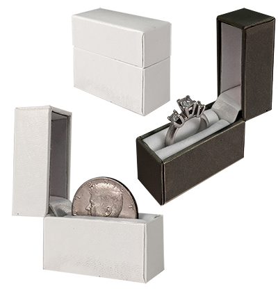 Engagement Ring & Coin Box