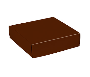 Chocolate Gloss Mailers Corrugated Mailer Boxes