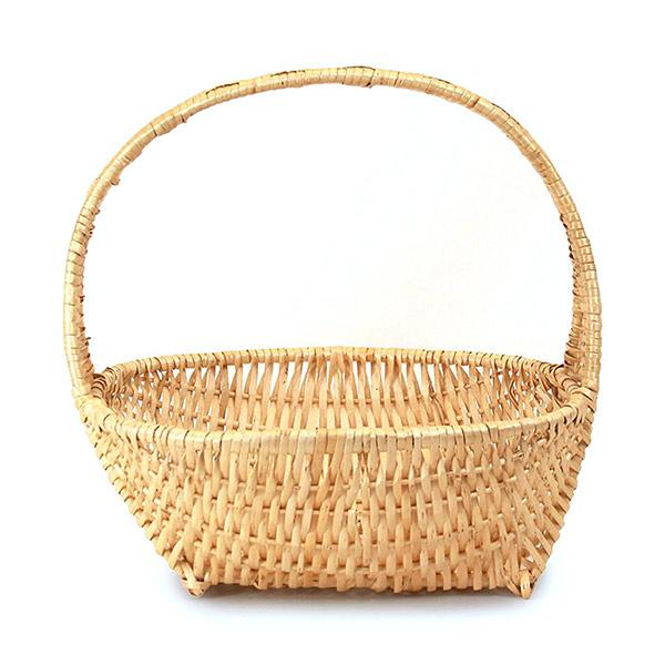 646 Natural Oval Basket