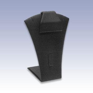 B-299 - BLACK NECK W/RING/EARRING