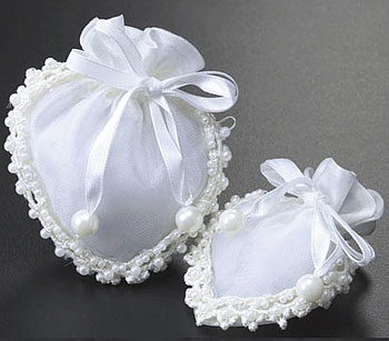 Satin Wedding Favor Pouches