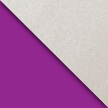 Purple & Silver Kraft