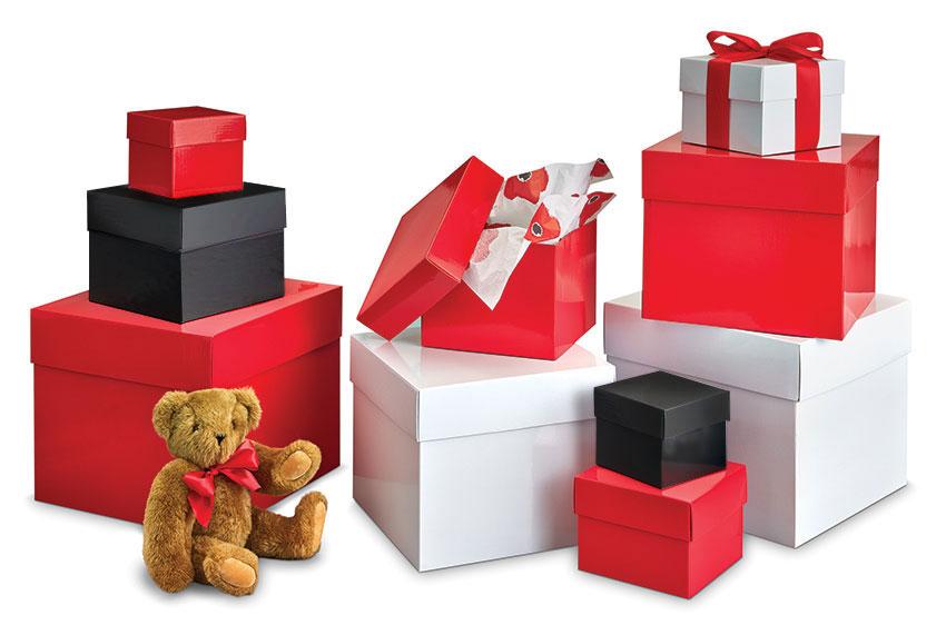 BIG BOX Sturdy Folding Gift Boxes