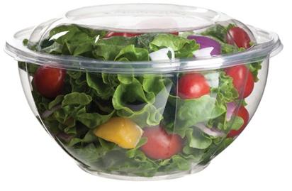 Biodegradable 32 oz. Salad Bowl w/ Lid