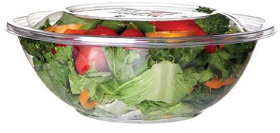 Biodegradable 64 oz. Salad Bowl w/ Lid