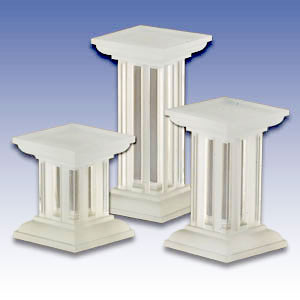 F-CL3 - ACRYLIC 3PC. COLUMNS SET