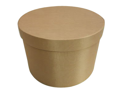 Straw Round Fabric Boxes