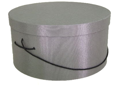Steel Gray Hat Boxes