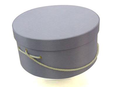 Lavender Hat Boxes