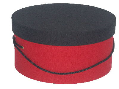 Red and Black Hat Boxes