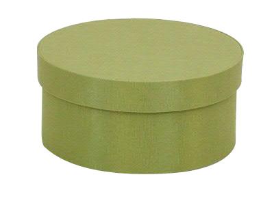 Celery Round Fabric Boxes