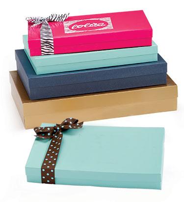 Special Order Premium 2 Piece Colored Rigid Apparel Boxes