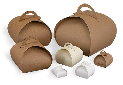 Specialty Style Tulip Cardboard Pouch-Box