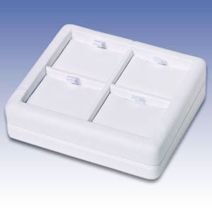 L-Q4P - WHITE 4 PENDANT DISPLAY