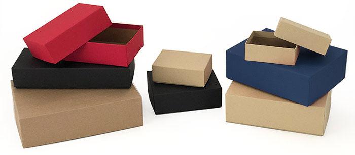 Kraft Set-Up Postal Mailers / Fully Telescoping Lid