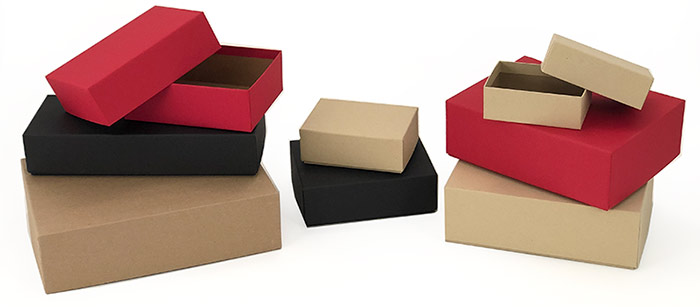 Kraft Rigid Gift Boxes