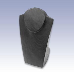 NW-1003 - BLACK MED. NECKLACE BUST