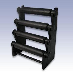 NW-3820 - 4 BAR BLACK BRACELET DISP