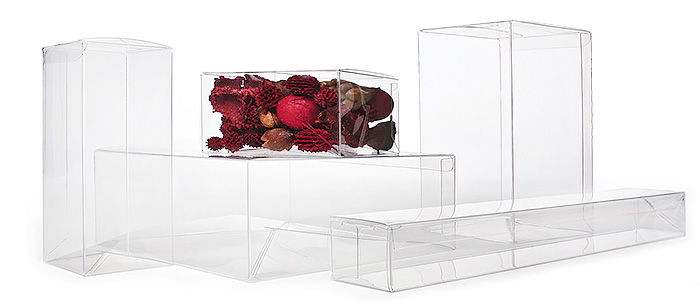 Food Safe PET Boxes with Pop-N-Lock Bottom