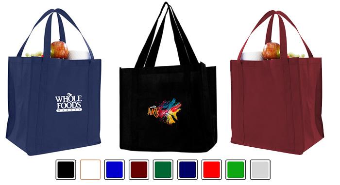 Custom Printed 80GSM NonWoven Grocery Bag