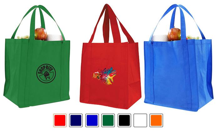 Custom Printed Jumbo 100GSM NonWoven Grocery Bag
