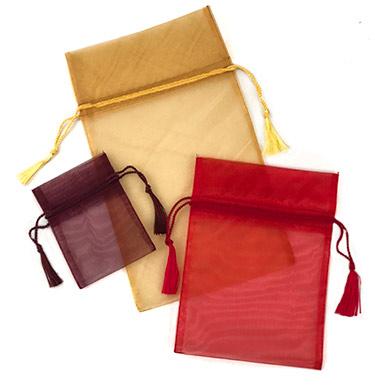 Sheer Organza Gift Pouches