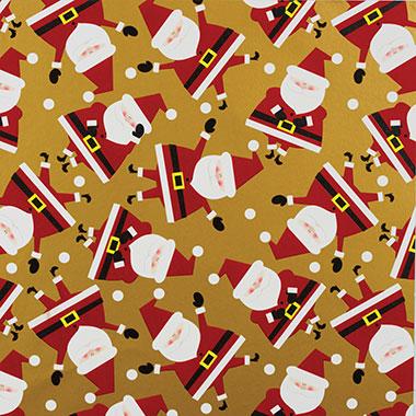 Dancing Santa Gold