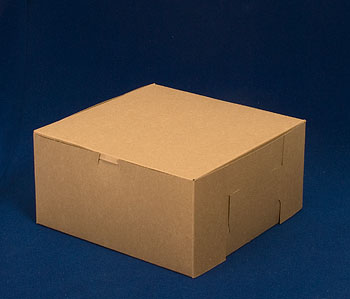 Lock Corner Kraft Cake Bakery Boxes