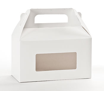 Horizontal White Window Candy Totes