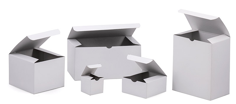 Economy White Gloss Gift Boxes