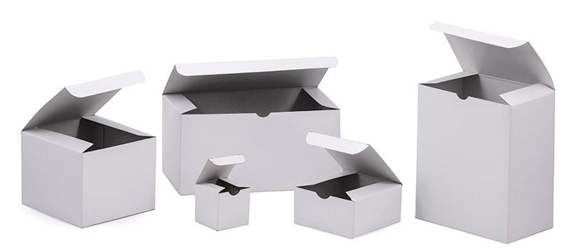 Economy White Gloss Gift Boxes