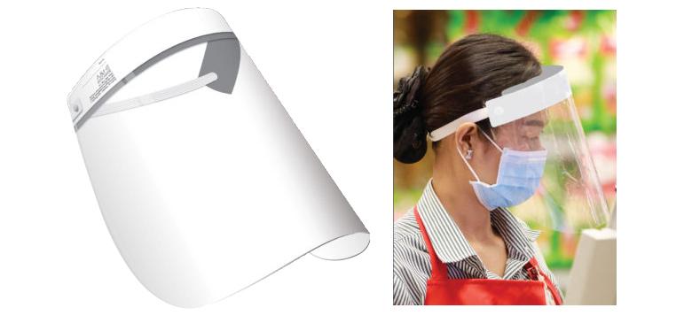 Face Shield w/Adjustable Foam Headband