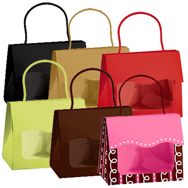 Small Gourmet Windowed Gift Totes