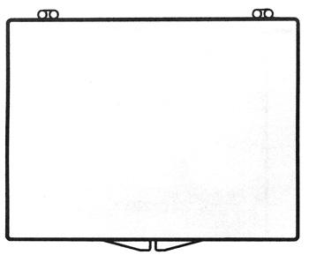 4 5/8 x 3 1/2 - Rigid Clear Hinged Plastic Boxes