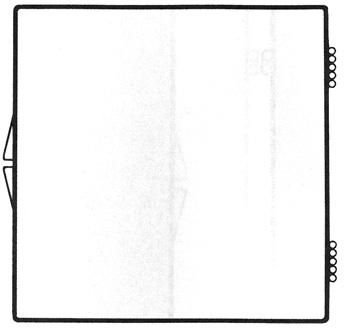 4 1/16 X 4 1/16 - Rigid Clear Hinged Plastic Boxes