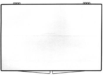 7 3/8 x 4 29/32 - Rigid Clear Hinged Plastic Boxes