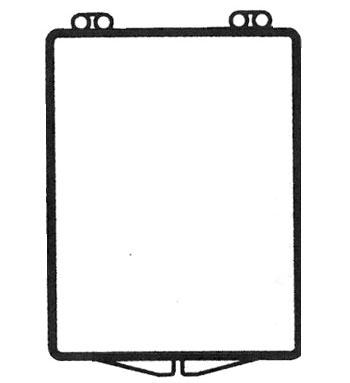 1 5/8 x 2 1/8 - Rigid Clear Hinged Plastic Boxes
