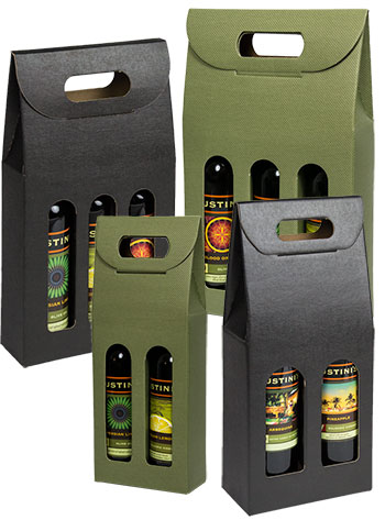 Seta Italian Colored Olive Oil & Vinegar Carriers