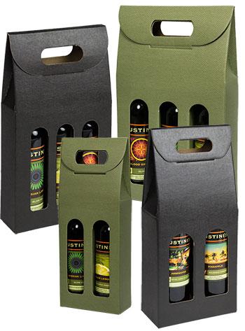 Seta Italian Colored Olive Oil & Vinegar Carriers