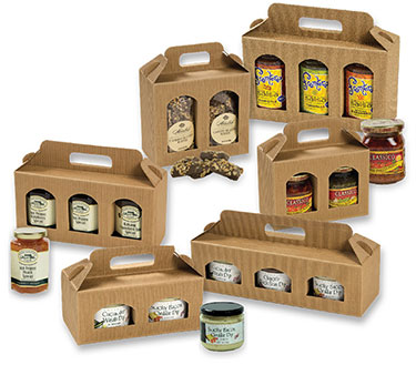 Italian Jar Gift Box Carriers